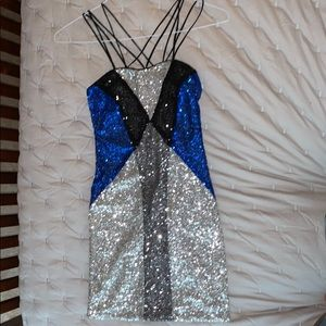 Sequined dress size S